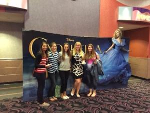 Opening night of Cinderella!